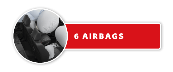 6 airbags